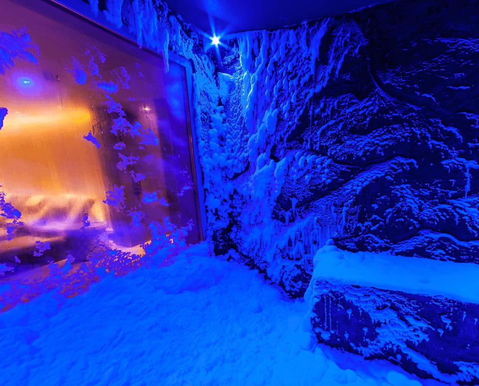 Viking Star snow grotto