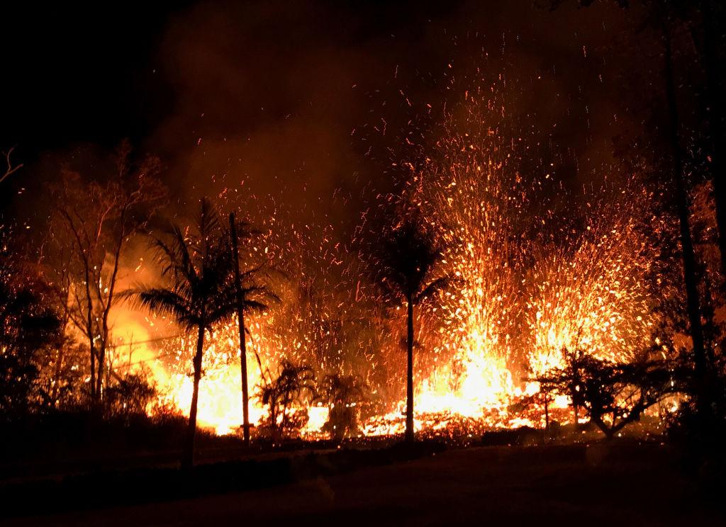 Hundreds Forced To Evacuate After Hawaii's Kilauea Volcano Erupts