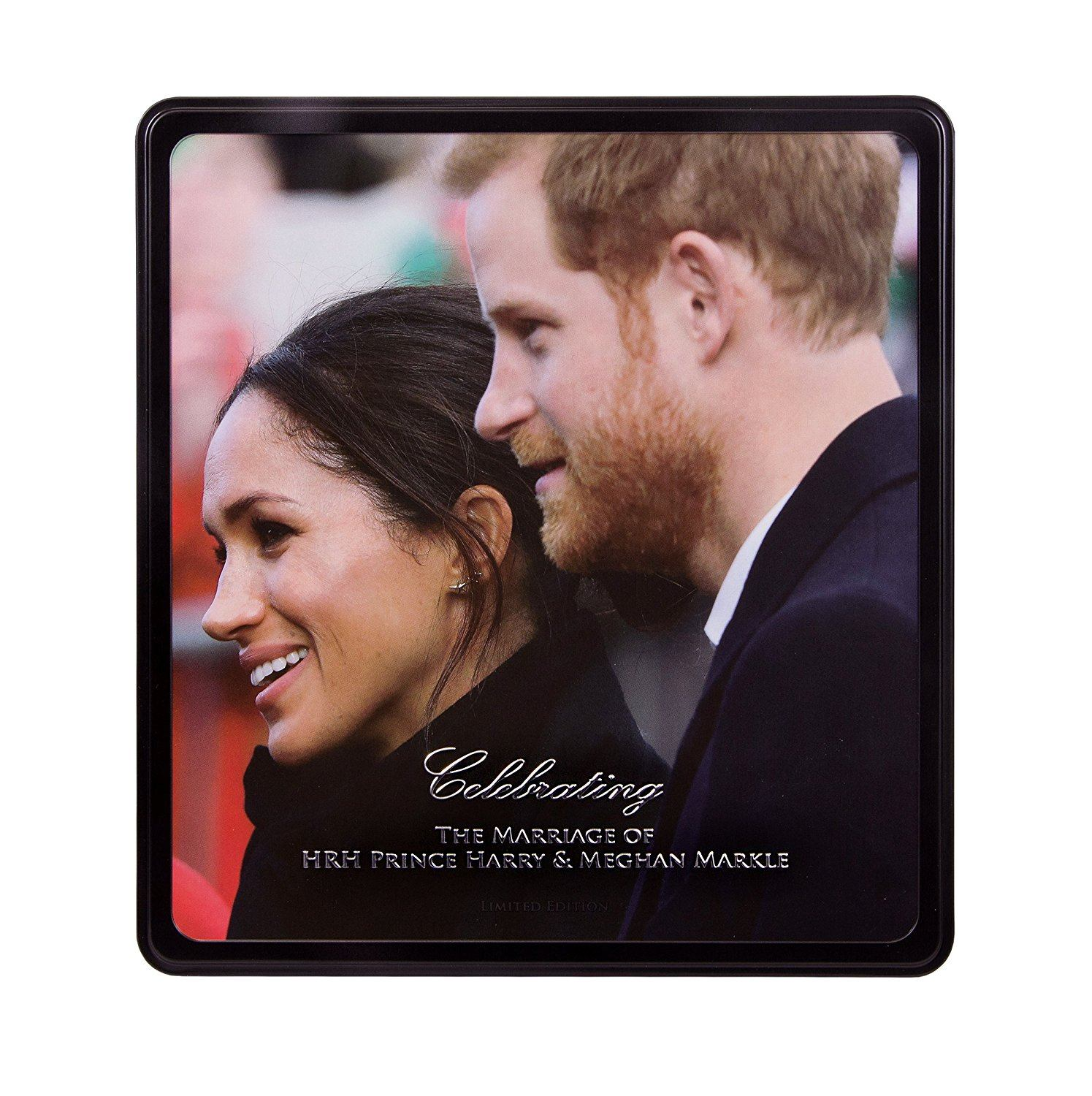 Walker's royal wedding tin
