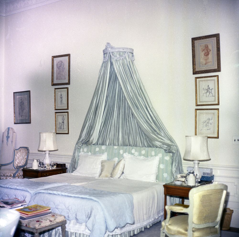 First Lady Jacqueline Kennedy's Bedroom