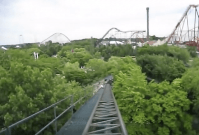 The ride from the passenger's perspective.