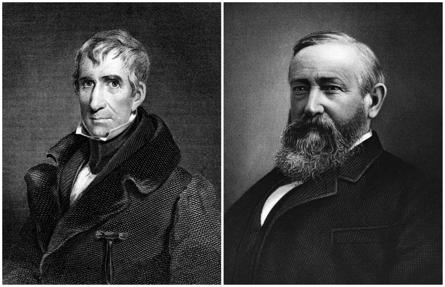 William Henry and Benjamin Harrison