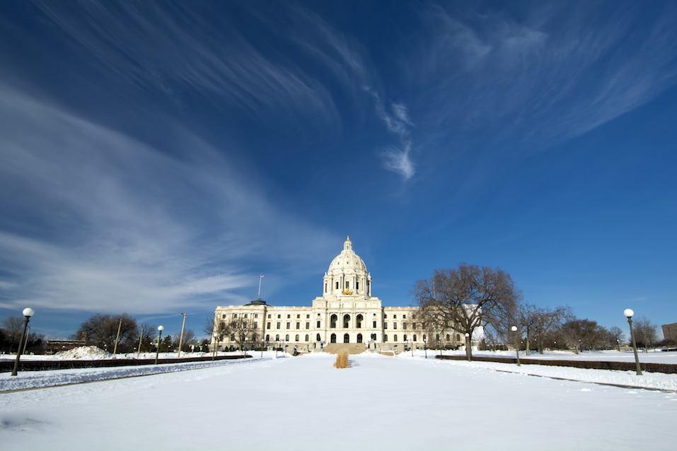 State Capital Building, Saint Paul, Minnesota, USA