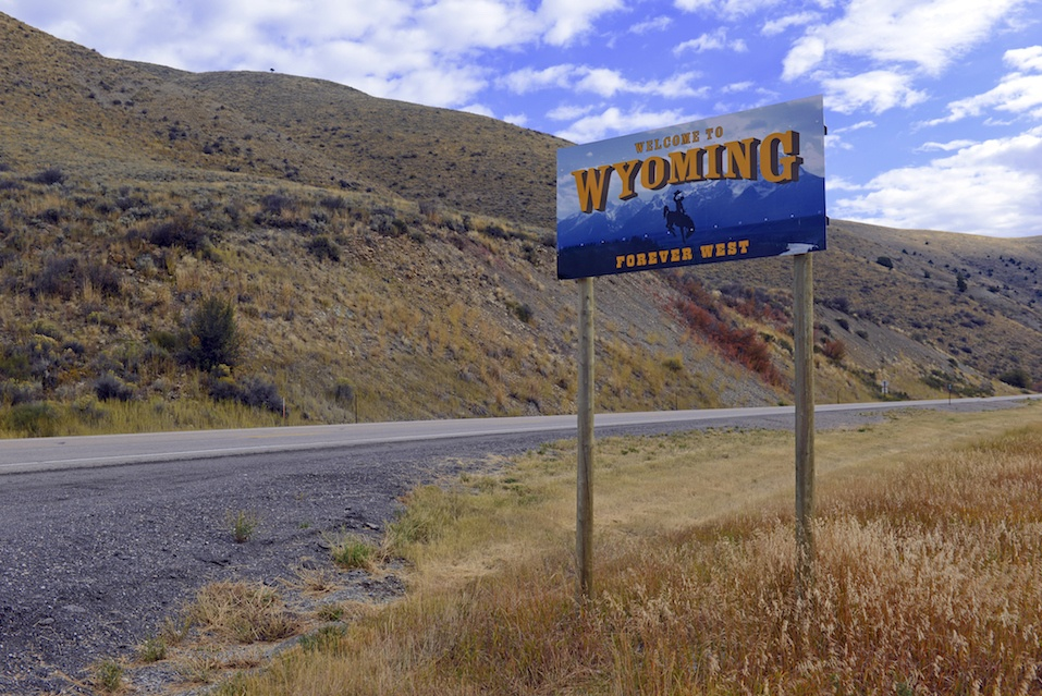 Wyoming State highway