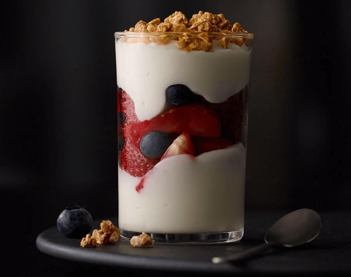 Yogurt parfait mcdonald's