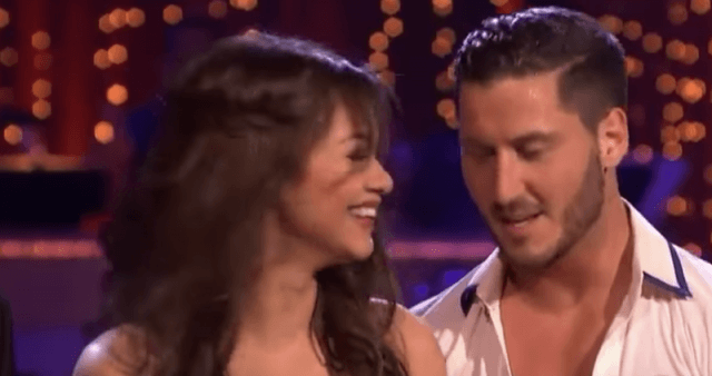 Zendaya Coleman and Val Chmerkovskiy on 'DWTS'.