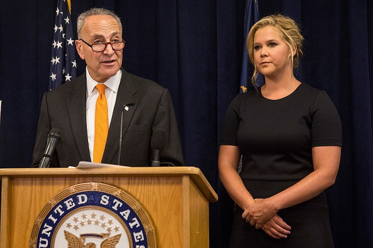 Sen. Chuck Schumer And Amy Schumer