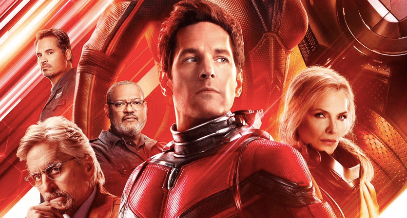 Michelle Pfeiffer on the Ant-Man and the Wasp poster