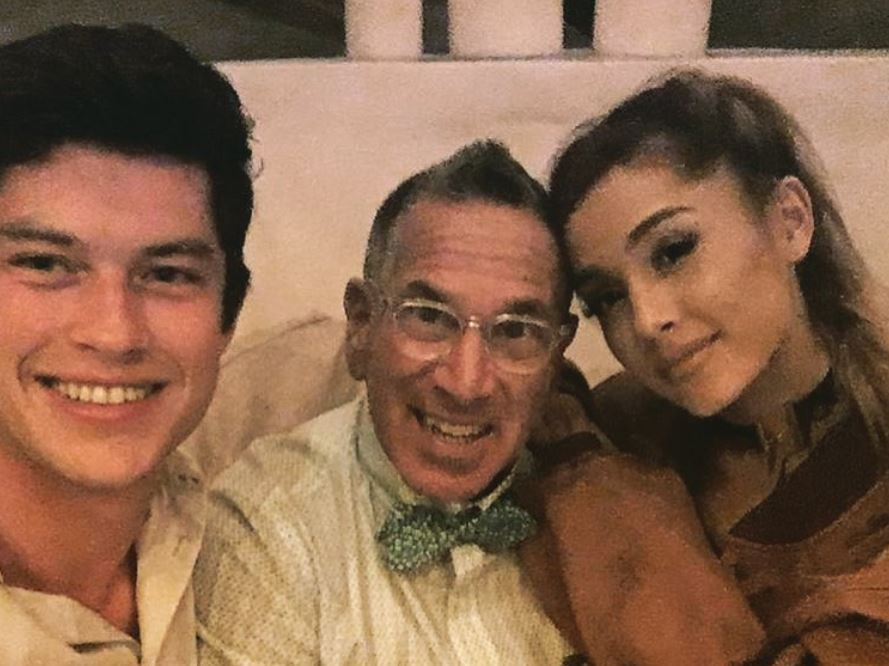 Ariana Grande and Graham Phillips