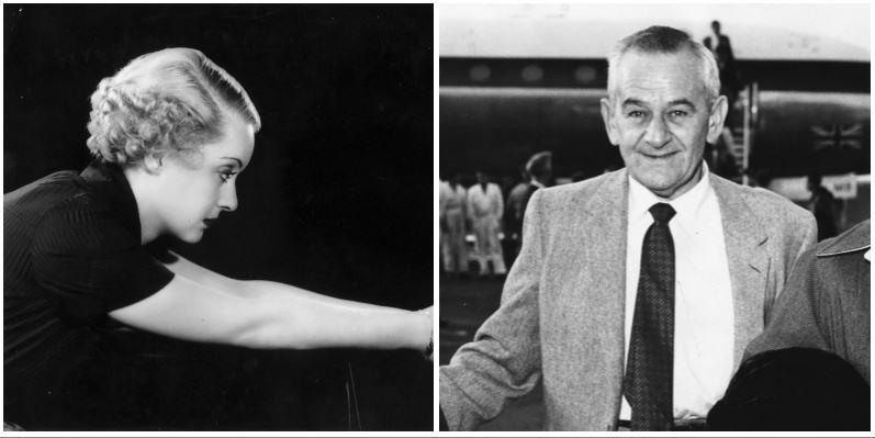 Bette Davis and William Wyler composite image