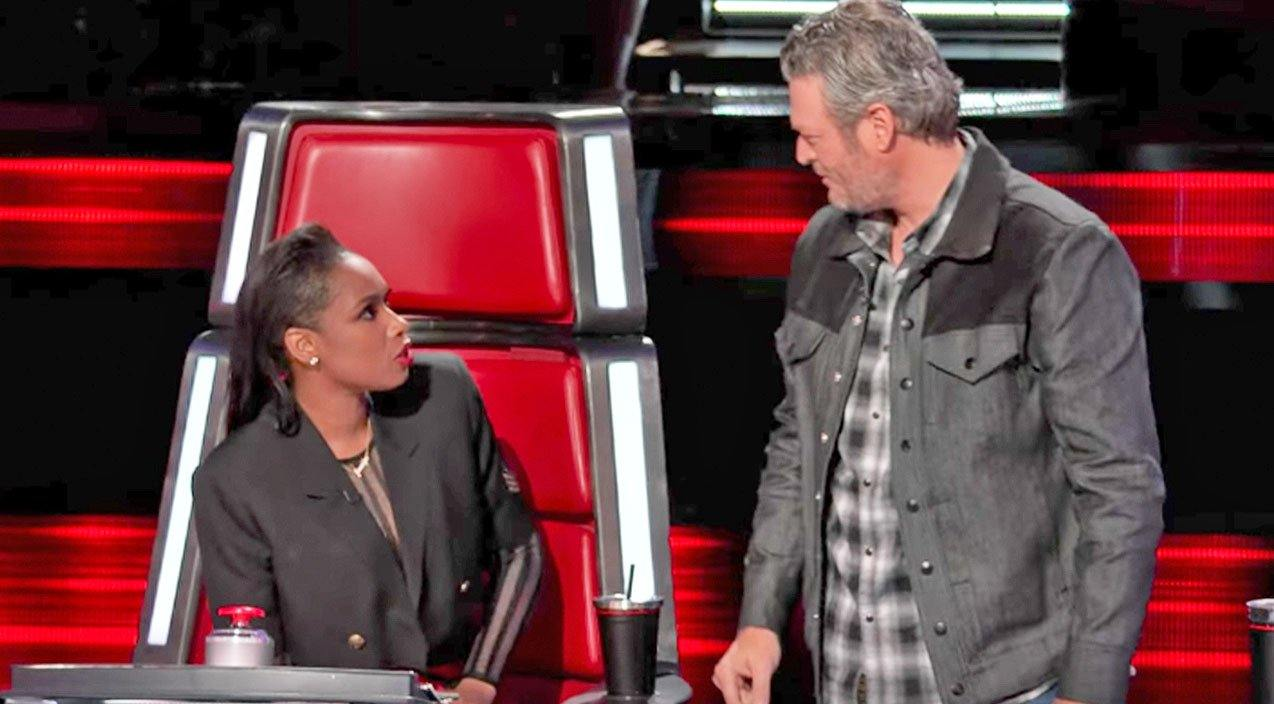 Jennifer Hudson and Blake Shelton
