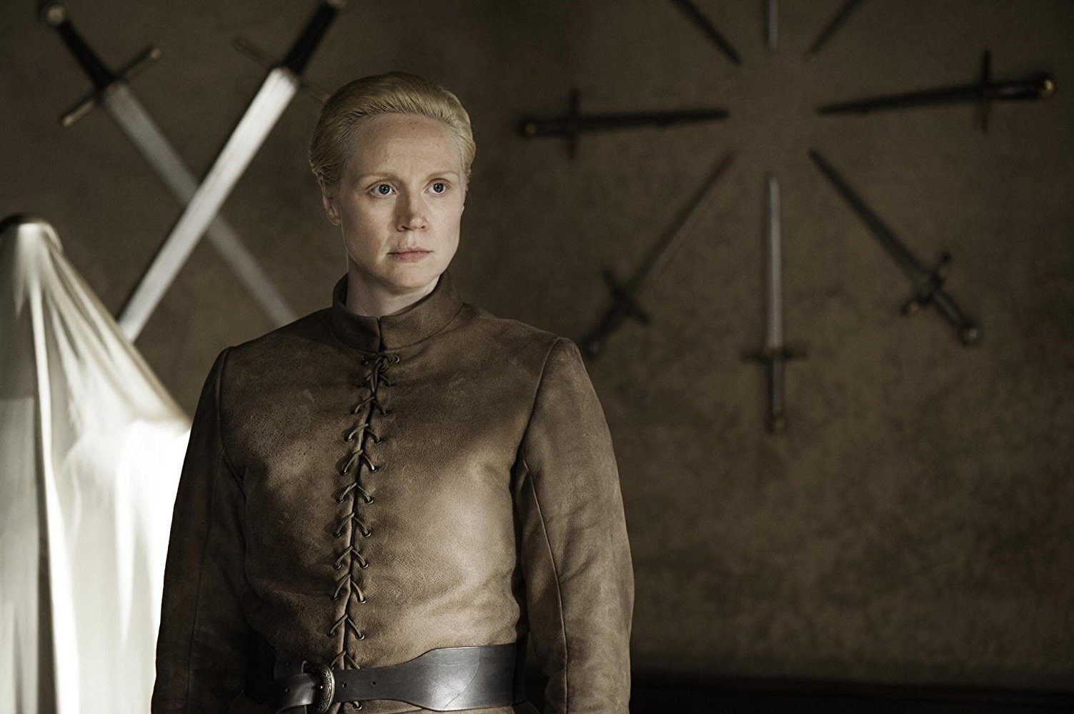 Brienne of Tarth on Game of Thrones