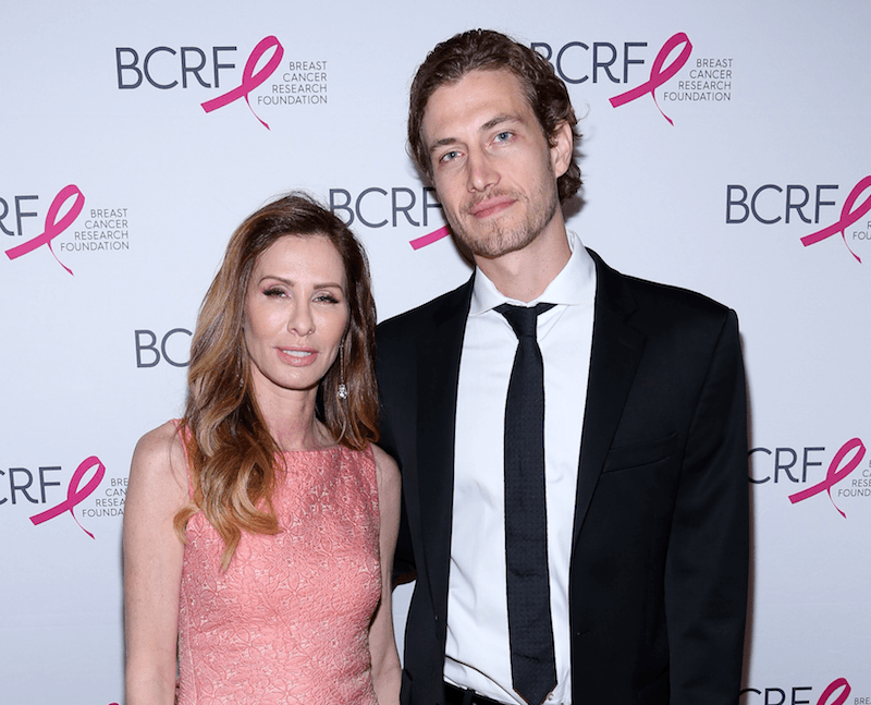 NEW YORK, NEW YORK - APRIL 12: Carole Radziwill (L) and guest attend 2016 Breast Cancer Research Foundation Hot Pink Party at The Waldorf=Astoria on April 12, 2016 in New York City. (Photo by Rob Kim/Getty Images)
