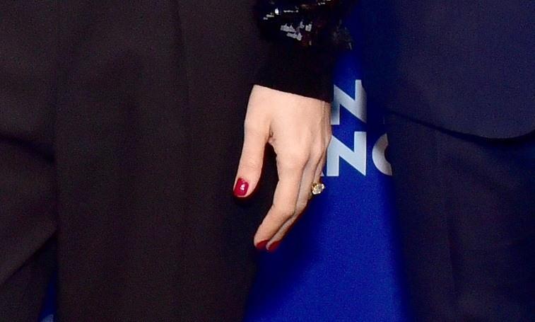 Charlotte Casiraghi engagement ring