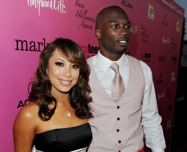 Cheryl Burke and Chad Ochocinco on Dancing with the Stars