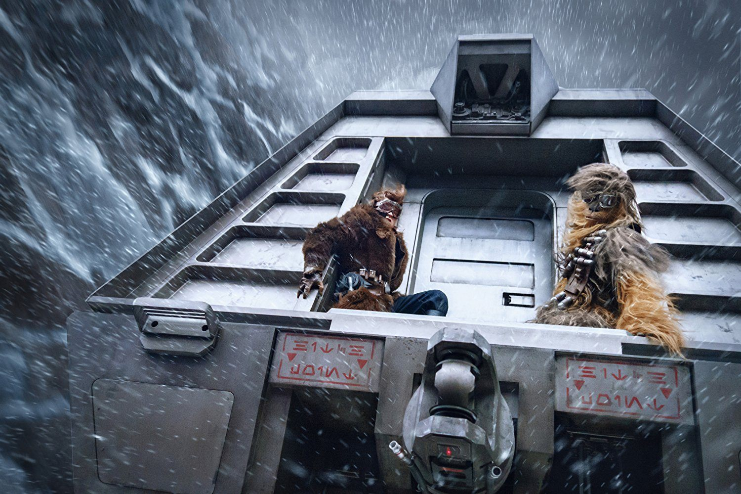 Han and Chewie in Solo: A Star Wars Story