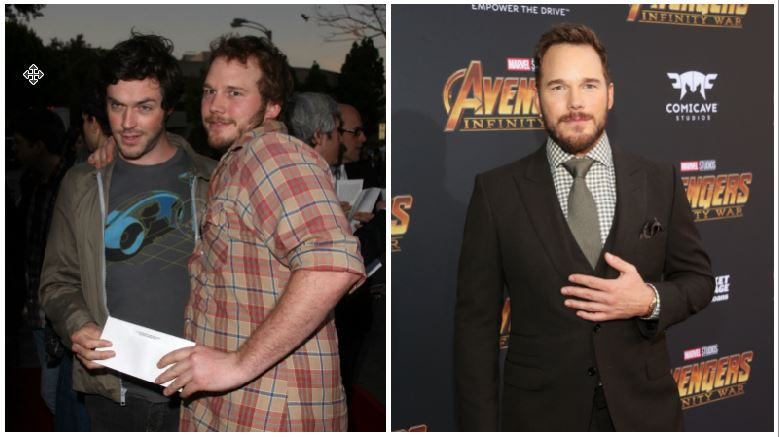 Chris Pratt composite image
