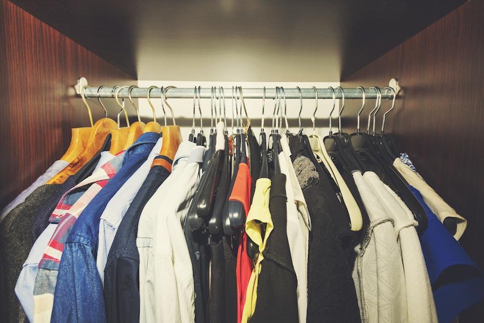 Full closet