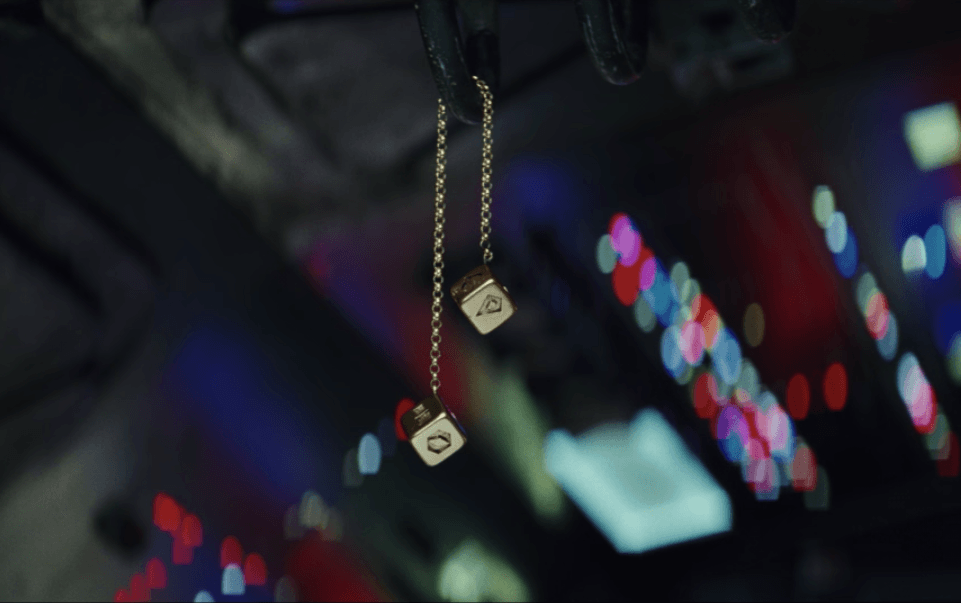 Han Solo's dice in The Last Jedi