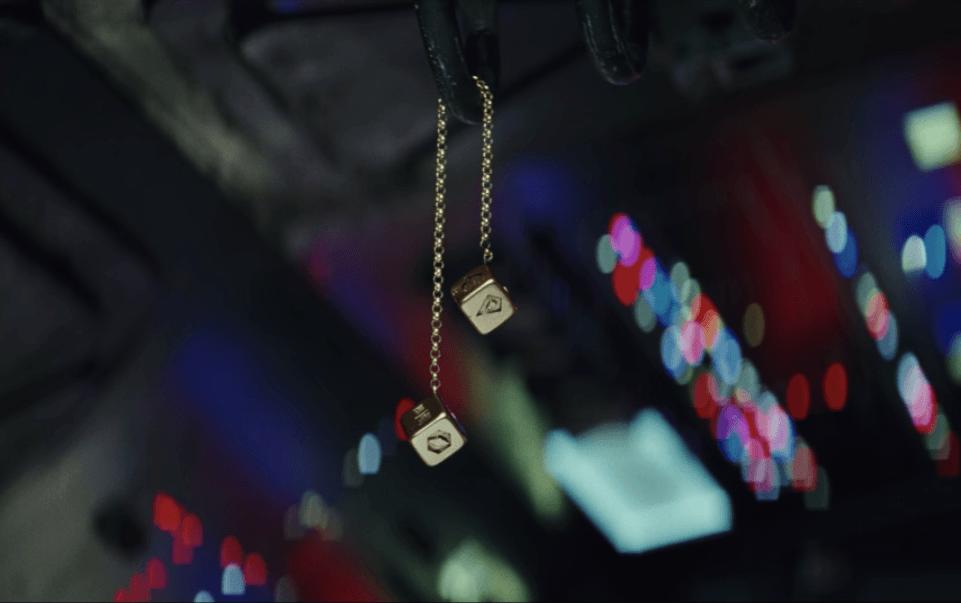 Han Solo's dice in The Last Jedi