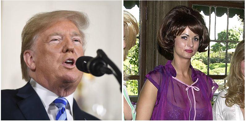 Donald Trump and Karen McDougal composite image