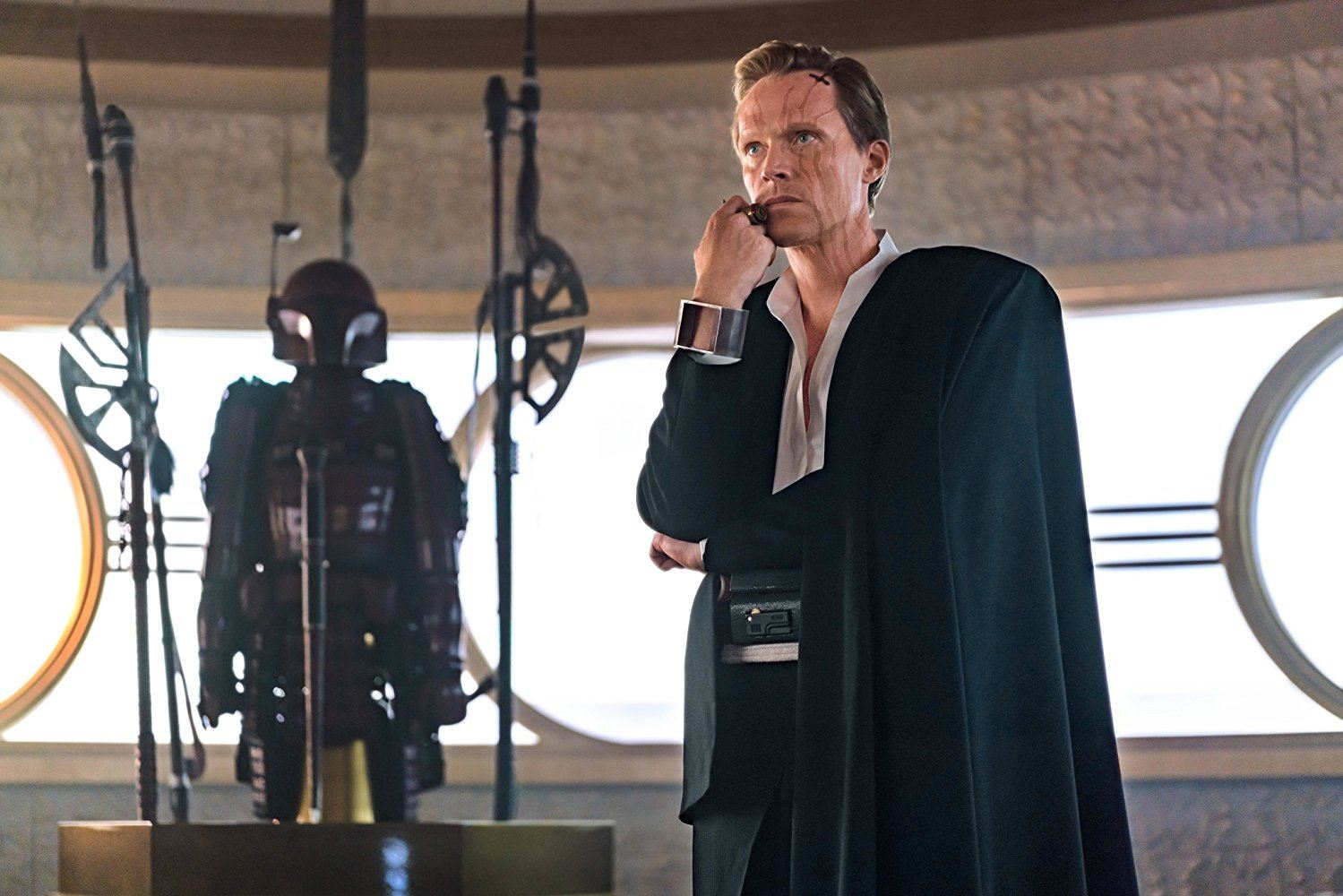Paul Bettany as Dryden Vos in Solo: A Star Wars Story