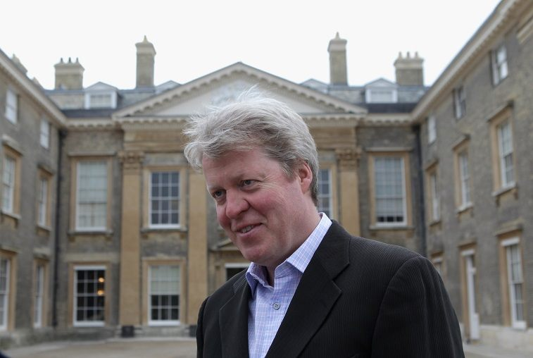 Lord Charles Spencer, the 9th Earl Spencer looks on during the Northamptonshire CCC photocall held at Althorp House on March 30, 2011 in Northampton, England.