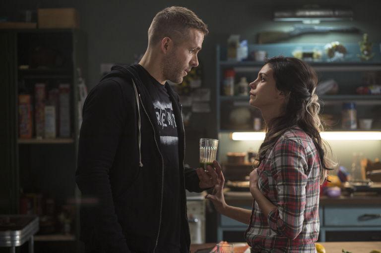 Wade Wilson and Vanessa in Deadpool