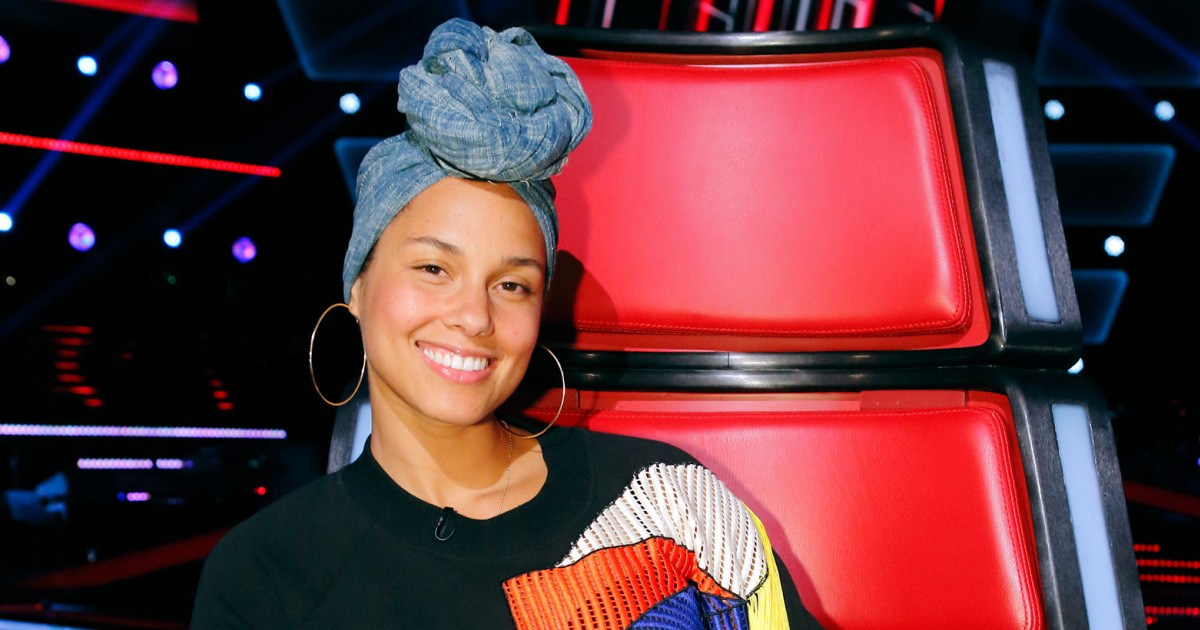Alicia Keys on Th eVoice