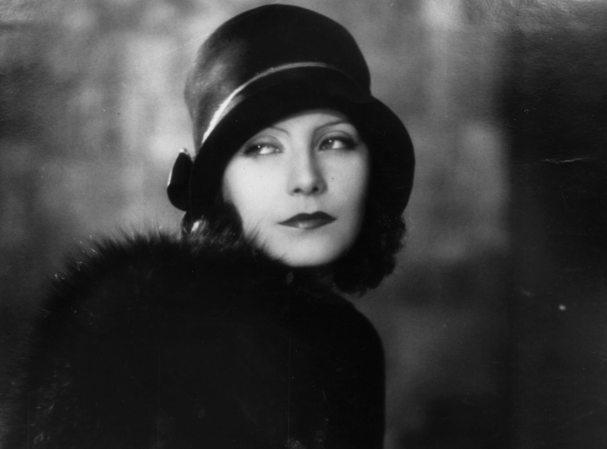 Swedish-born American film actress Greta Garbo, shortly after she arrived in Hollywood.