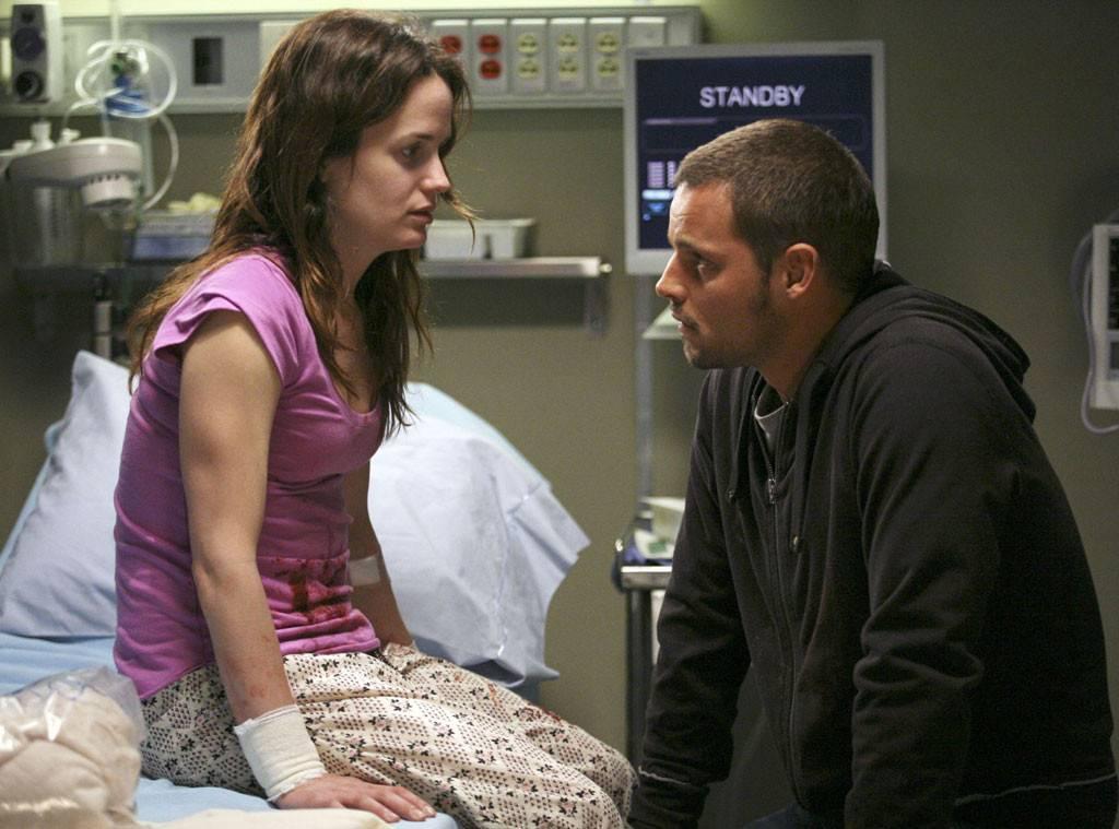Ava/Rebecca and Alex Karev on Grey's Anatomy