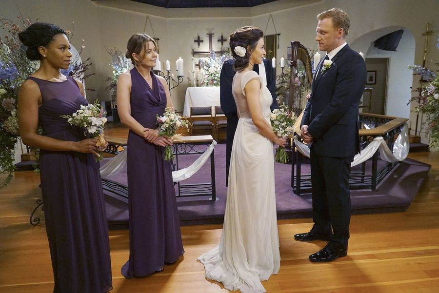 Amelia and Owen get married on Grey's Anatomy