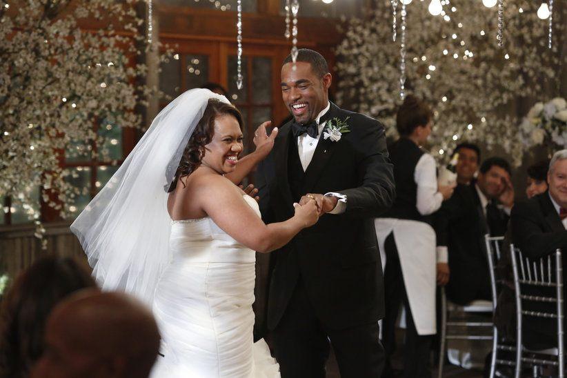 Bailey and Ben's wedding on Grey's Anatomy