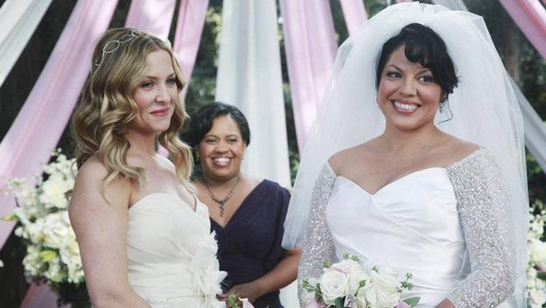 Callie and Arizona get married on Grey's Anatomy