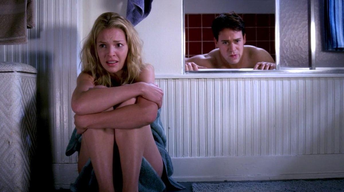 Izzie and George on Grey's Anatomy