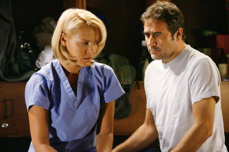 Izzie and Ghost Denny on Grey's Anatomy