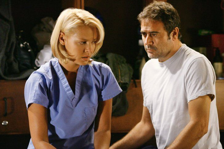 Izzie and Ghost Denny on Grey's Anatomy