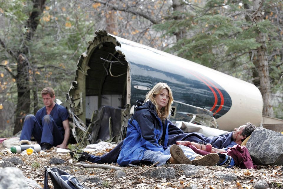 Grey's Anatomy plane crash