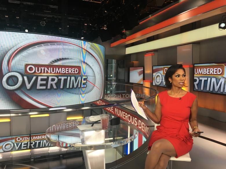 Harris Faulkner on Outnumbered Overtime on Fox