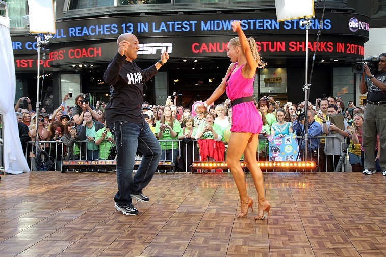 Hines Ward and Kym Johnson on Dancing with the Stars