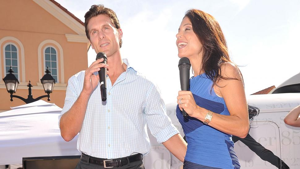 Jason Hoppy and Bethenny Frankel