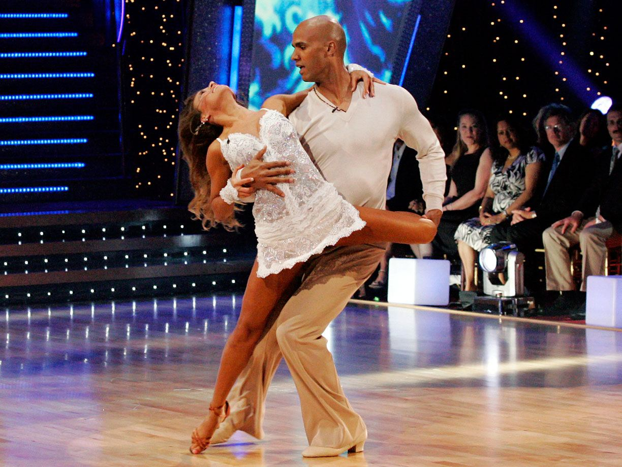 Jason Taylor and Edyta Śliwińska on Dancing with the Stars