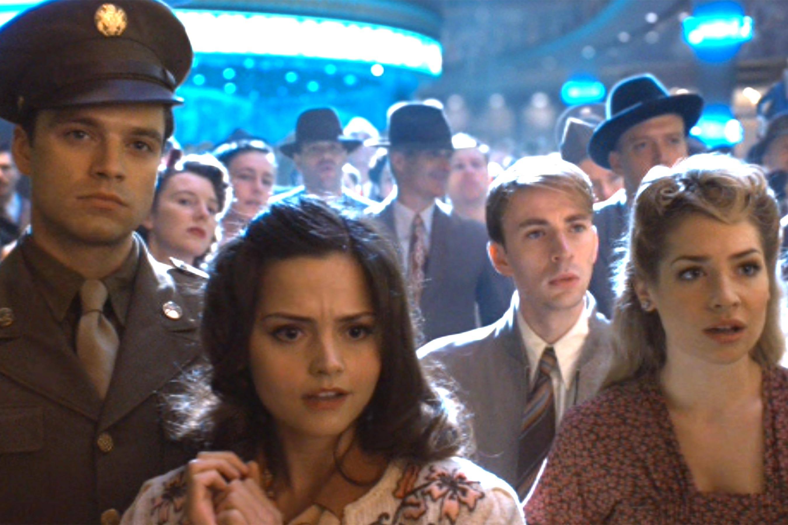 Jenna Coleman in Captain America: The First Avenger