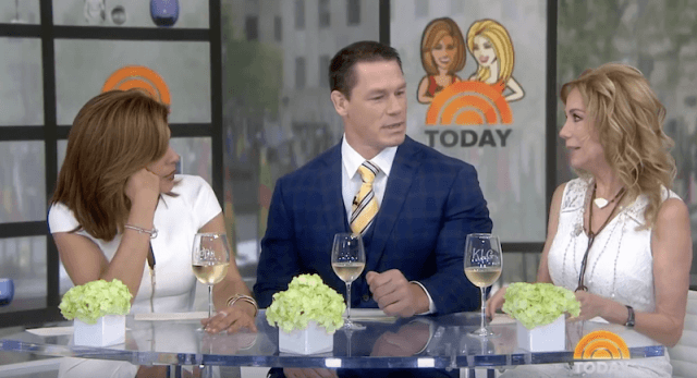 John Cena on the 'Today' show.