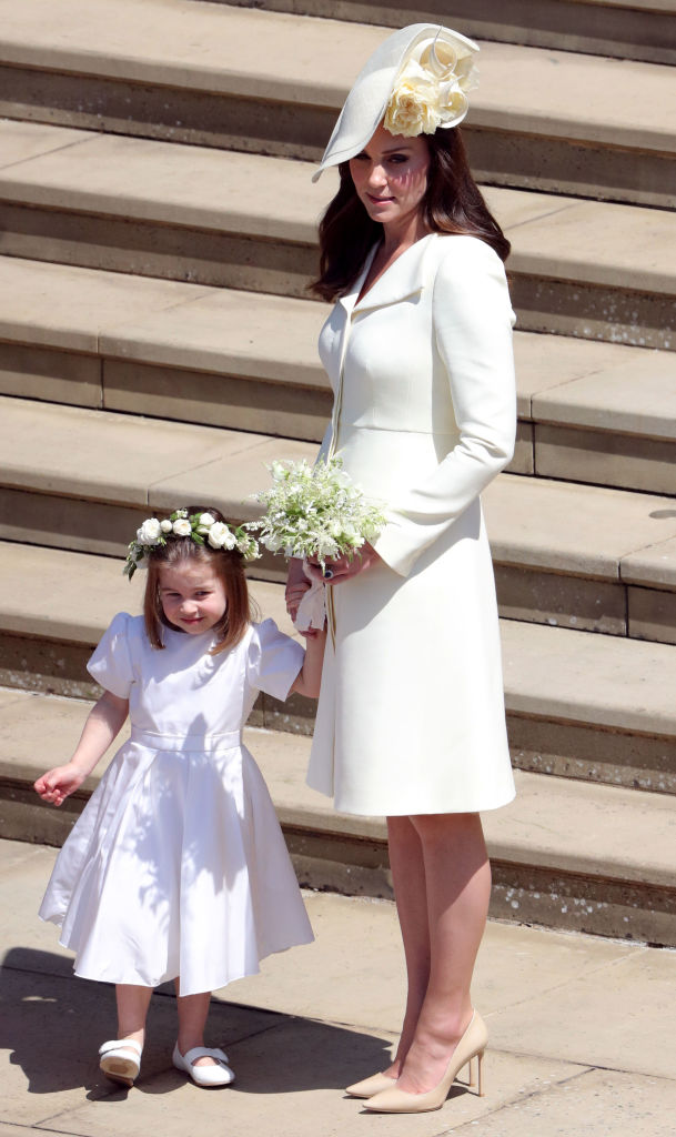 Kate Middleton at the royal wedding of Prince Harry and Meghan