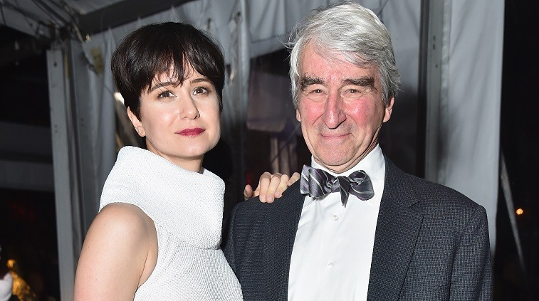 Katherine Waterston and Sam Waterston