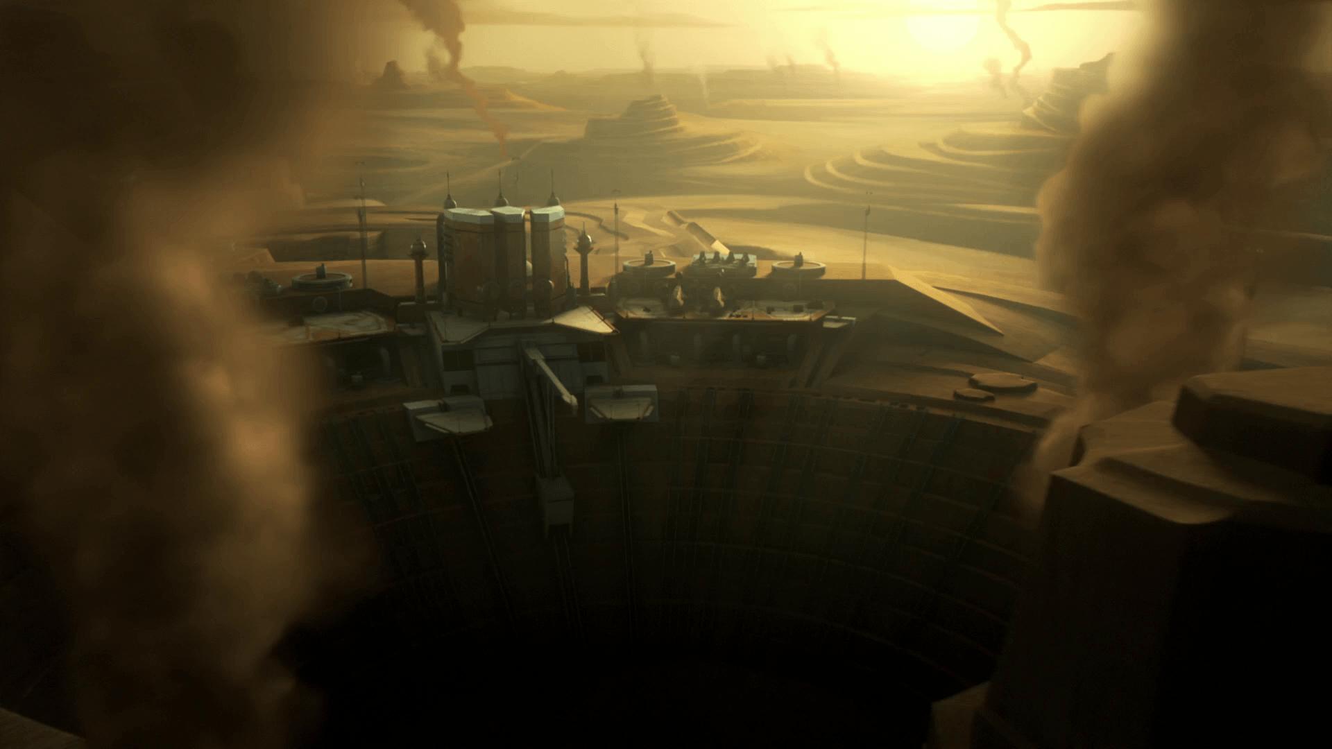 Kessel spice mines in Star Wars