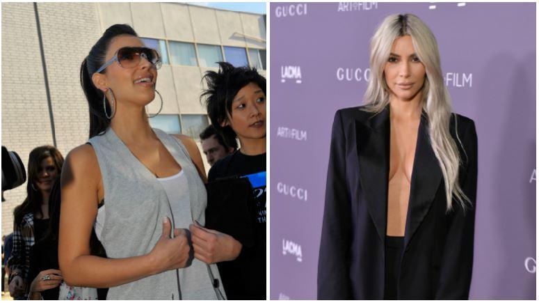 Kim Kardashian composite image