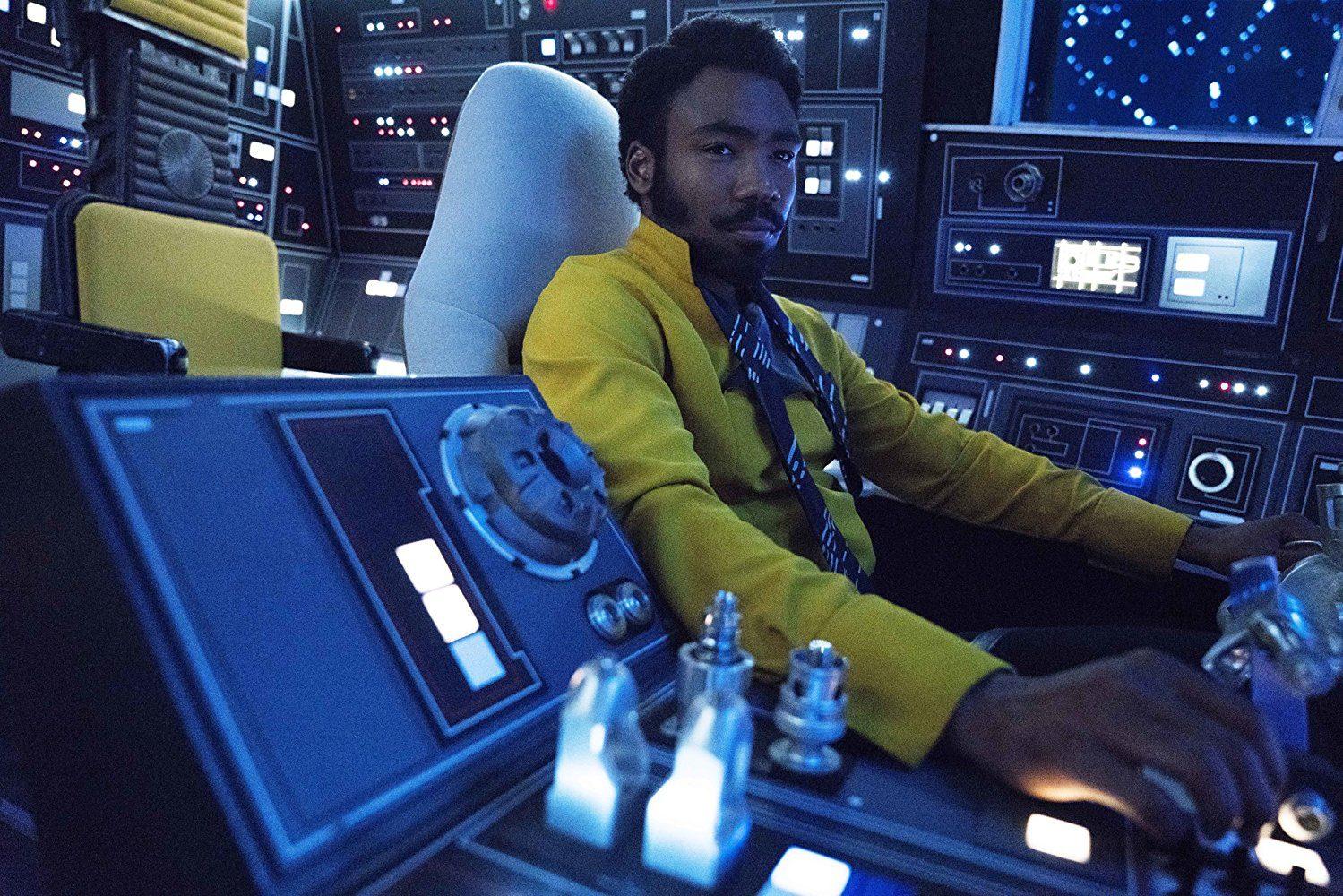 Lando Calrissian in Solo: A Star Wars Story