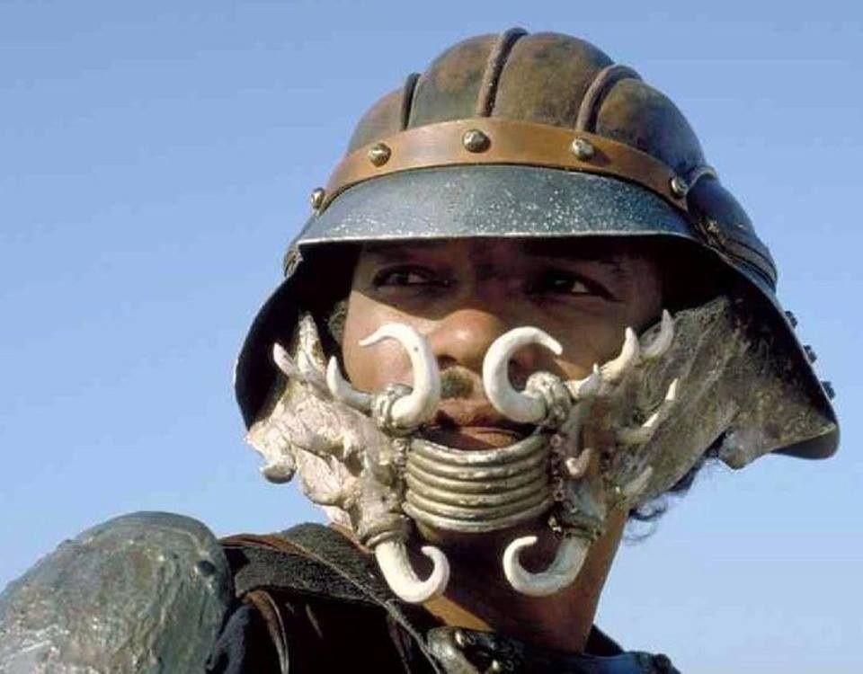 Lando's disguise in Return of the Jedi.